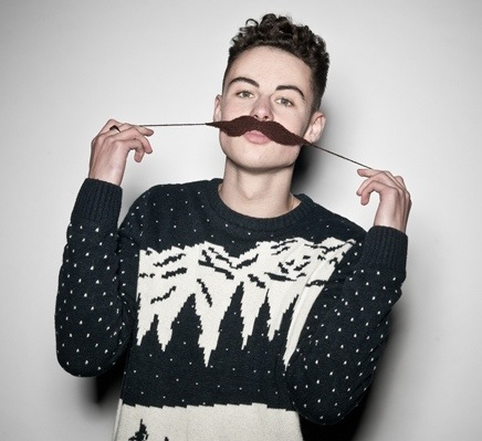 Knit A Movember Moustache