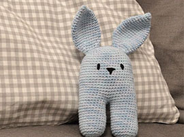 Crochet Bunny Rabbit Rattle Tutorial