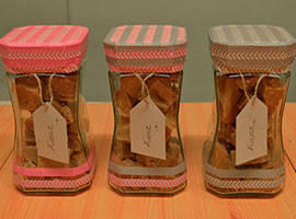 Washi Taped Jars Tutorial