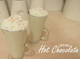 White Hot Chocolate Recipe