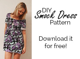 Free Smock Dress Sewing Pattern Download