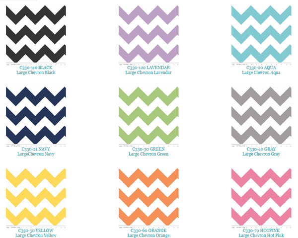 Riley Blake Designs Chevron Fabric
