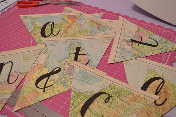 DIY-Map-Paper-Bunting---Glue-Letters-to-Bunting