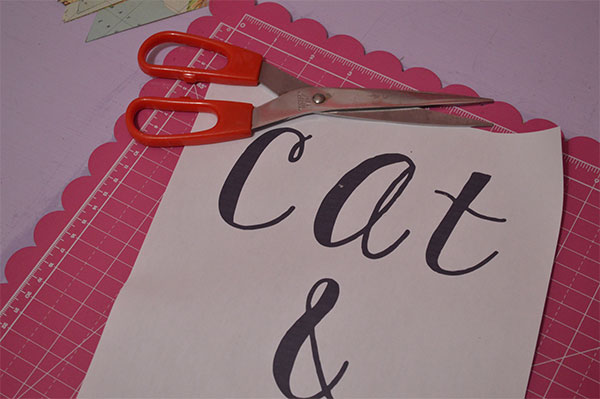 DIY Map Paper Bunting Print Out Lettering Template
