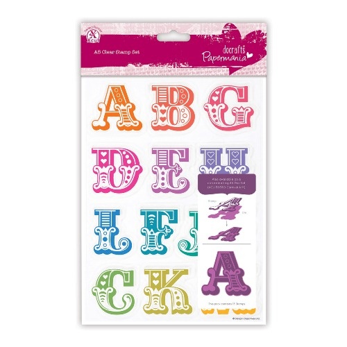 Do Crafts Carnival Alphabet Stamps A-M-1
