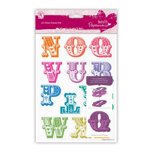 Do Crafts Carnival Alphabet Stamps N-Z