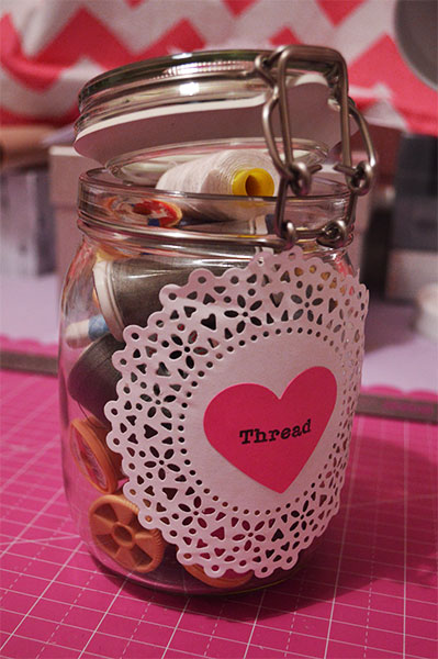 DIY Jar Labels from Doilies - Things to Do with Doilies