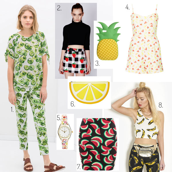 Fruit Print DIY Inspiration