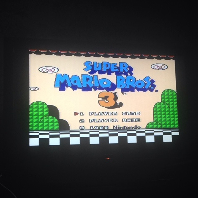 Friday night stress buster #nintendo #nes #supermario