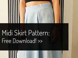 Free Midi Sewing Pattern