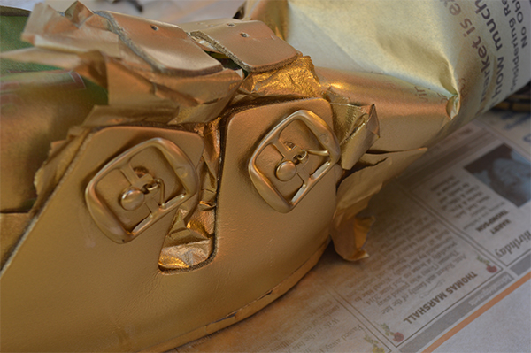 Upcycling Ideas DIY Gold Birkenstocks_h