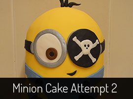How to decorate a minion cake__a