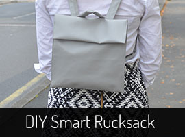 DIY Rucksack Sewing Pattern