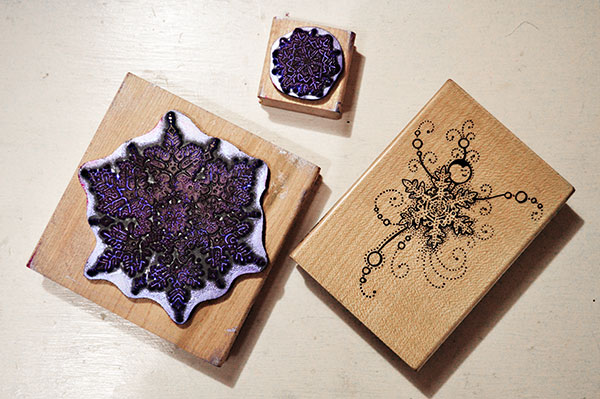 Stampendous Snowflake Stamps