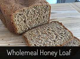 Wholemeal Breadmaker Recipe