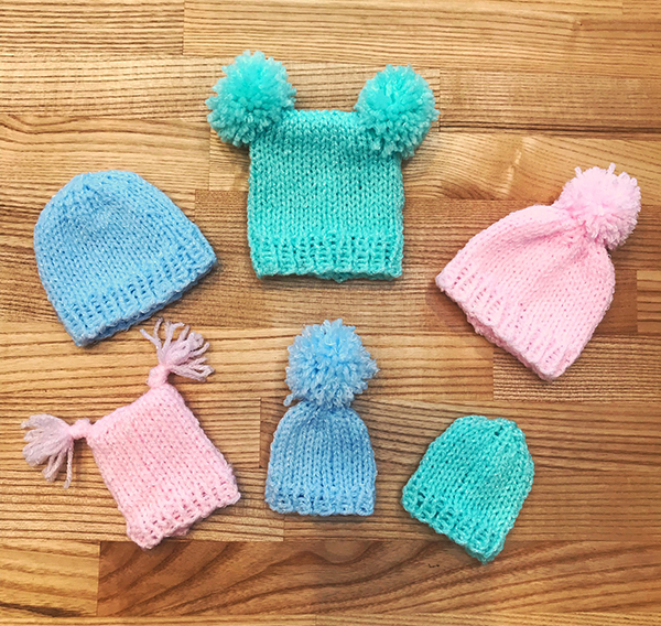 Baby Hat Knitting Pattern for Premature & Stillborn Babies