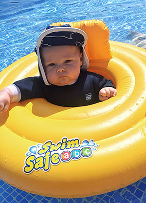 Baby Travel Essentials - Baby Swimming Float Inflatable