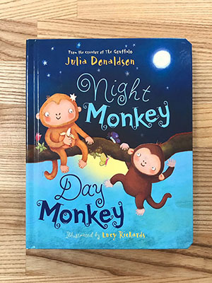 Children's Books to Read Out Loud - Night Monkey Day Monkey