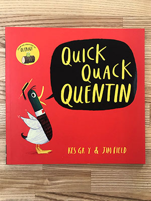 Children's Books to Read Out Loud - Quick Quack Quentin