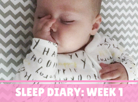 Nap & Bedtime Routine Sleep Diary