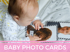 Baby Development Activity - Family Photocards