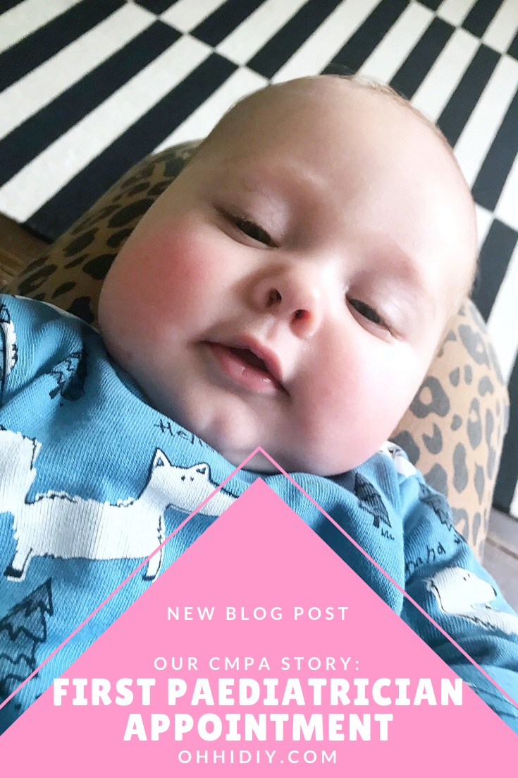 Our CMPA Story: First Appointment with the Paediatrician