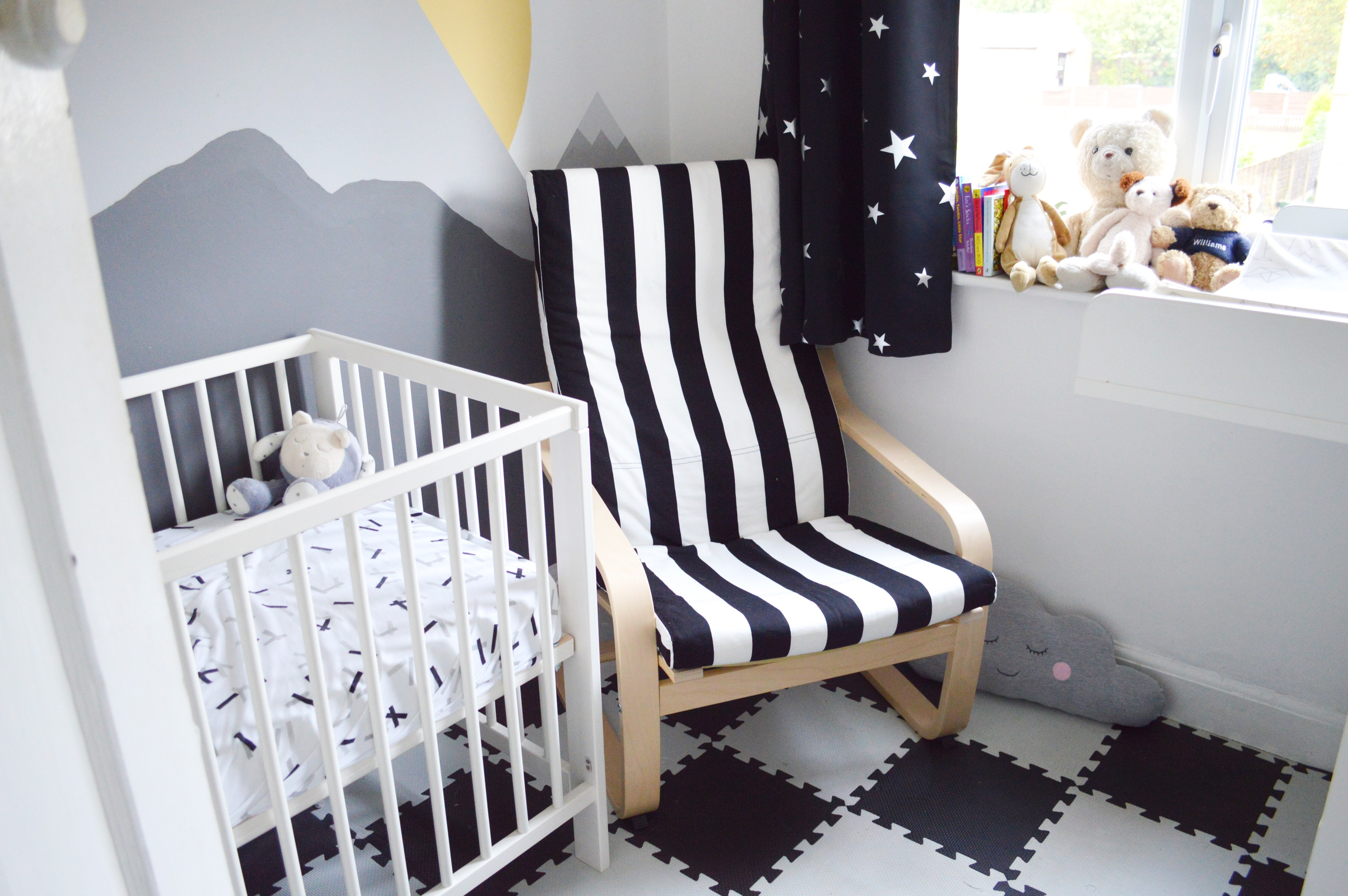 Ikea Poang Chair Review - Our New Nursing Chair - Oh Hi DIY