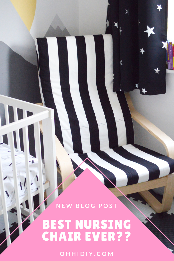 Best nursing chair?? Ikea posing chair review and assembly blog post and video
