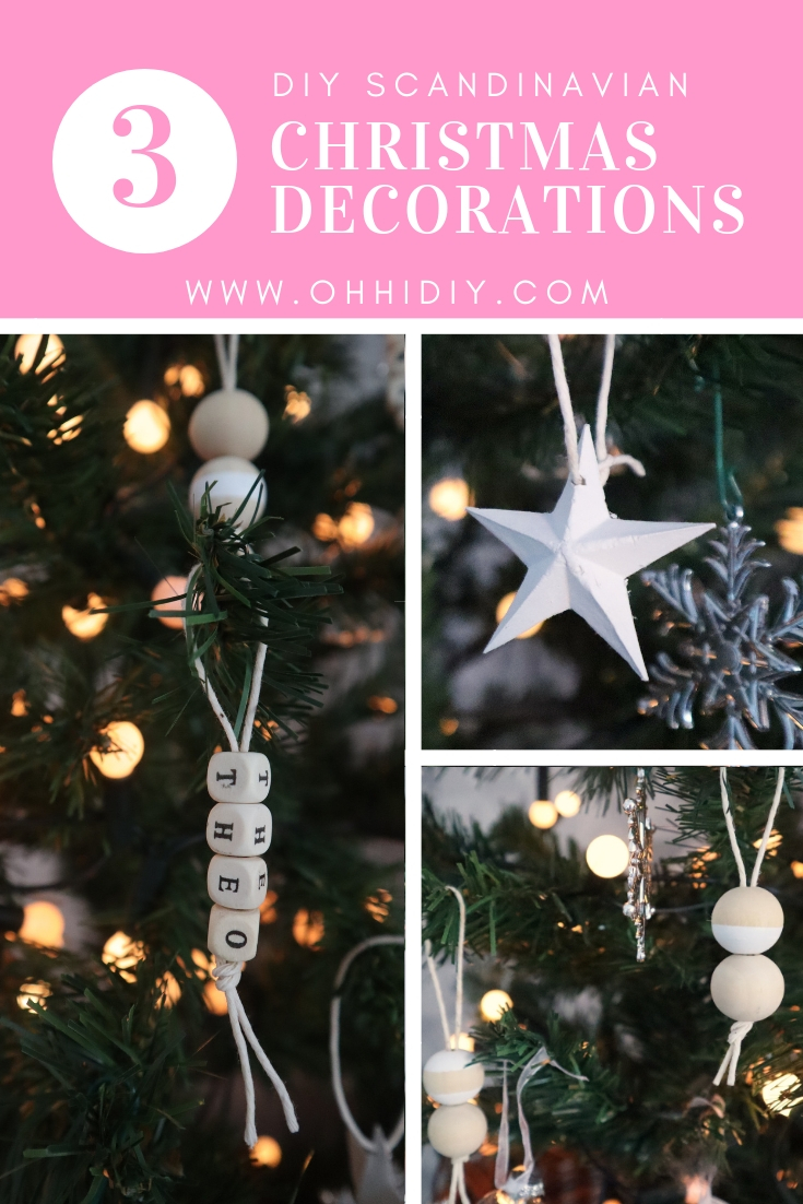 DIY Scandi Christmas Decorations