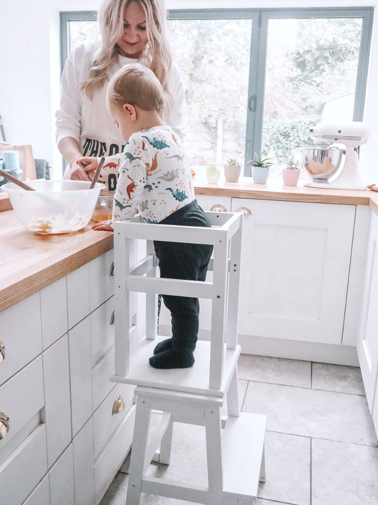 Montessori toddler stool ikea hack