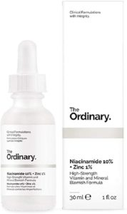Best Serum for Acne Prone Skin - The Ordinary Niacinamide